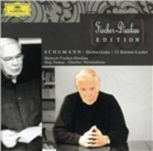CD Dichterliebe op.48 - 12 Gedichte op.35 - 7 Lieder di Robert Schumann