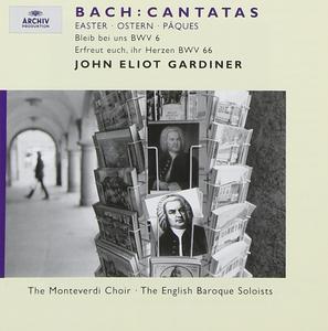 CD Cantate di Pasqua: BWV6, BWV66 di Johann Sebastian Bach