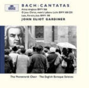 CD Cantate funebri BWV106, BWV118, BWV231, BWV198 di Johann Sebastian Bach