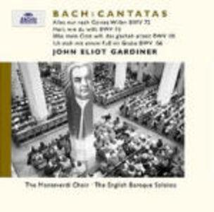 CD Cantate BWV72, BWV73 di Johann Sebastian Bach