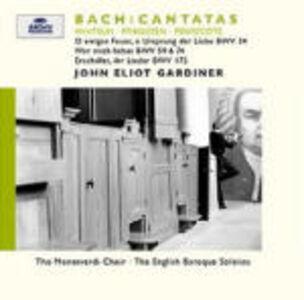 CD Cantate BWV34, BWV59, BWV74, BWV172 di Johann Sebastian Bach