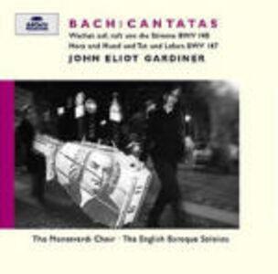Foto Cover di Cantate BWV140, BWV147, CD di AA.VV prodotto da Archiv