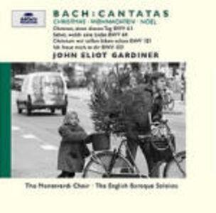 Foto Cover di Cantate per il Natale BWV63, BWV64, BWV121, BWV133, CD di AA.VV prodotto da Archiv