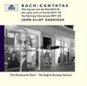 CD Cantate BWV94, BWV105, BWV168 di Johann Sebastian Bach