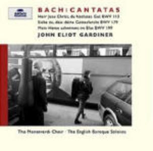CD Cantate BWV113, BWV179, BWV199 di Johann Sebastian Bach