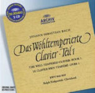 Foto Cover di Il clavicembalo ben temperato vol.1 (Das Wohltemperierte Clavier teil 1), CD di Johann Sebastian Bach,Ralph Kirkpatrick, prodotto da Deutsche Grammophon