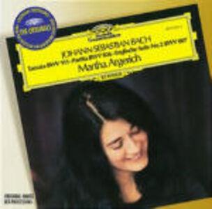 CD Toccata BWV911 - Partita BWV826 - Suite inglese n.2 BWV807 di Johann Sebastian Bach