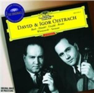 David e Igor Oistrakh - CD Audio di David Oistrakh,Igor Oistrakh