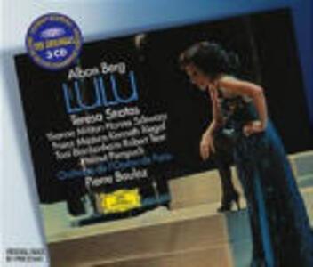Lulu - CD Audio di Alban Berg,Pierre Boulez