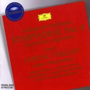 Sinfonia n.9 - Ouverture Egmont - CD Audio di Ludwig van Beethoven,Ferenc Fricsay,Berliner Philharmoniker