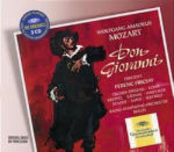 Don Giovanni - CD Audio di Wolfgang Amadeus Mozart,Ferenc Fricsay,Maria Stader,Dietrich Fischer-Dieskau,Sena Jurinac,RIAS Orchestra