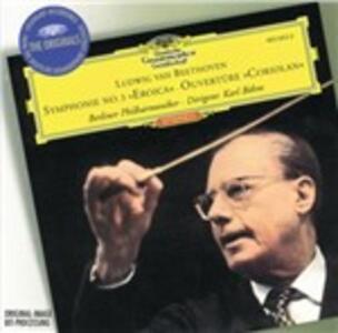 Sinfonia n.3 - Ouverture Coriolano - CD Audio di Ludwig van Beethoven,Berliner Philharmoniker,Karl Böhm