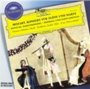 CD Concerto per flauto e arpa / Concerto per arpa / Concerto-serenade Wolfgang Amadeus Mozart , Joaquin Rodrigo , Carl Heinrich Reinecke