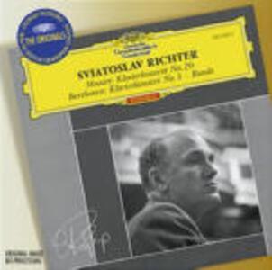 Concerto per pianoforte n.3 / Concerto per pianoforte n.20 - CD Audio di Ludwig van Beethoven,Wolfgang Amadeus Mozart,Sviatoslav Richter,Kurt Sanderling,Wiener Symphoniker