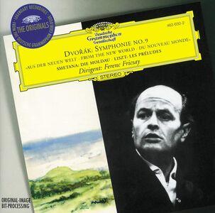 Foto Cover di Sinfonia n.9 / La Moldava (Die Moldau) / Les Préludes, CD di AA.VV prodotto da Deutsche Grammophon