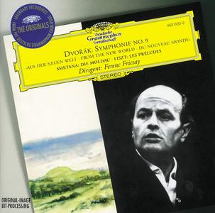 CD Sinfonia n.9 / La Moldava (Die Moldau) / Les Préludes Antonin Dvorak , Franz Liszt , Bedrich Smetana