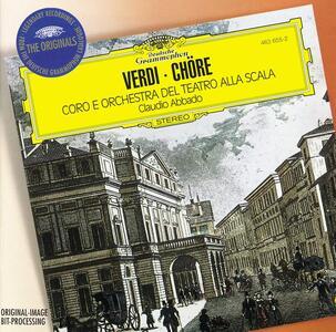 Cori - CD Audio di Giuseppe Verdi,Claudio Abbado,Orchestra del Teatro alla Scala di Milano