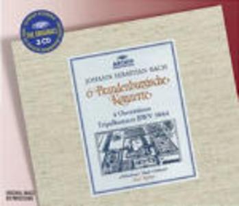 CD Concerti brandeburghesi completi - 4 Suites per orchestra - Triplo Concerto di Johann Sebastian Bach