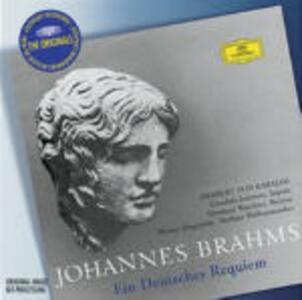 Un Requiem tedesco (Ein Deutsches Requiem) - CD Audio di Johannes Brahms,Herbert Von Karajan,Gundula Janowitz,Eberhard Wächter,Berliner Philharmoniker