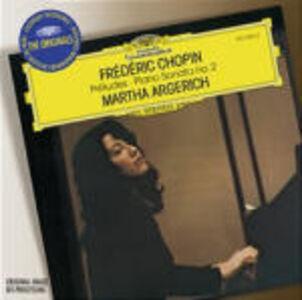CD Preludi - Sonata per pianoforte n.2 di Fryderyk Franciszek Chopin