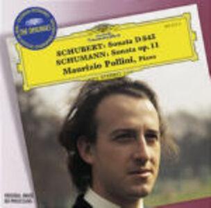 Foto Cover di Sonata per pianoforte D845 / Sonata per pianoforte op.11 n.1, CD di AA.VV prodotto da Deutsche Grammophon