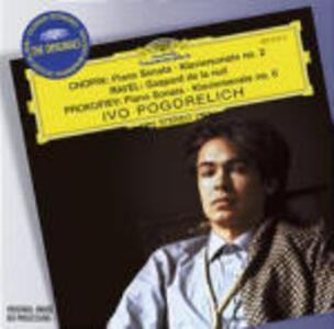 Sonata per pianoforte n.2 / Gaspard de la Nuit / Sonata per pianoforte n.6 - CD Audio di Fryderyk Franciszek Chopin,Sergej Sergeevic Prokofiev,Maurice Ravel,Ivo Pogorelich