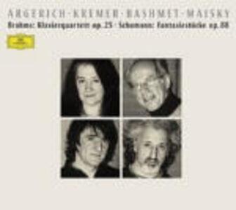 Foto Cover di Quartetto in Sol minore op.25 / Fantasiestücke op.88, CD di AA.VV prodotto da Deutsche Grammophon