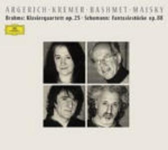 CD Quartetto in Sol minore op.25 / Fantasiestücke op.88 Johannes Brahms , Robert Schumann