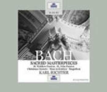CD Capolavori sacri di Johann Sebastian Bach