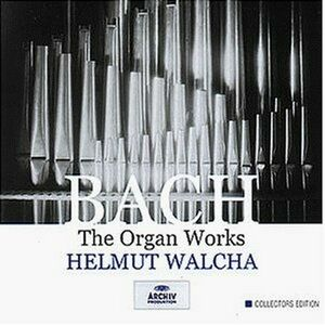 CD The Organ Works di Johann Sebastian Bach