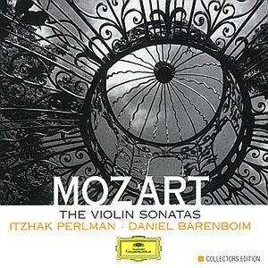 Sonate per violino e pianoforte complete - CD Audio di Wolfgang Amadeus Mozart,Itzhak Perlman,Daniel Barenboim