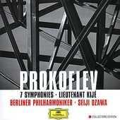CD Sinfonie complete Sergei Sergeevic Prokofiev Seiji Ozawa Berliner Philharmoniker