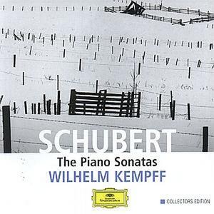 Sonate per pianoforte complete - CD Audio di Franz Schubert,Wilhelm Kempff