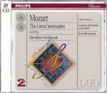 CD Eine Kleine Nachtmusik K525 - Serenate K239, K250 Haffner, K320 - Marcia K249 di Wolfgang Amadeus Mozart