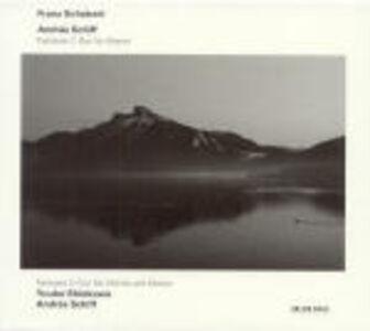 CD Fantasia Wanderer D760 - Fantasia D934 di Franz Schubert