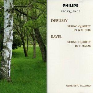 CD Quartetti per archi Claude Debussy , Maurice Ravel