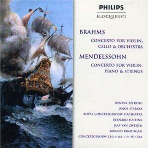 CD Mendelssohn Double di Felix Mendelssohn-Bartholdy