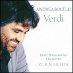 Verdi - CD Audio di Andrea Bocelli