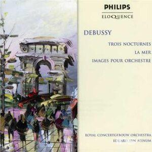 CD La Mer - 3 Notturni - Images di Claude Debussy