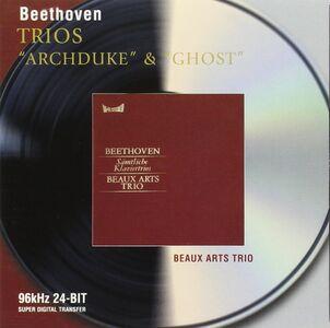 CD Trii con pianoforte n.4, n.5, n.7 di Ludwig van Beethoven