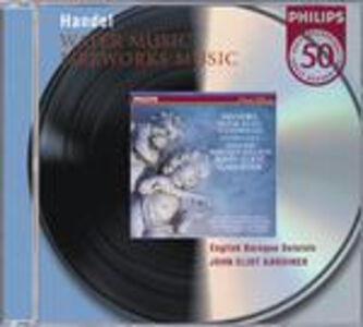 Foto Cover di Musica sull'acqua (Water Music) - Musica per i reali fuochi d'artificio (Music for the Royal Fireworks), CD di AA.VV prodotto da Philips