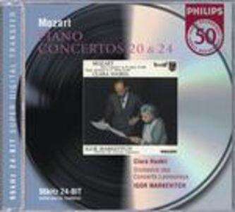 CD Concerti per pianoforte n.20, n.24 di Wolfgang Amadeus Mozart