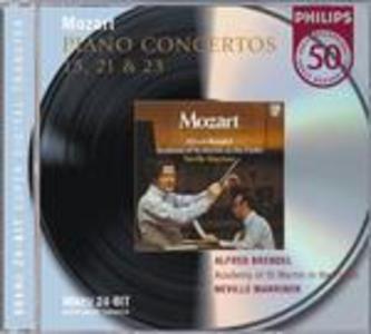 CD Concerti per pianoforte n.15, n.21, n.23 di Wolfgang Amadeus Mozart