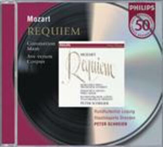 CD Requiem K626 - Messa dell'incoronazione K317 - Ave Verum Corpus di Wolfgang Amadeus Mozart