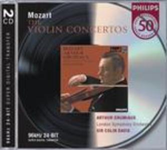 CD Concerti per violino - Sonate di Wolfgang Amadeus Mozart