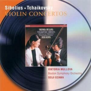 Foto Cover di Concerti per violino op.47 / Concerto per violino op.35, CD di AA.VV prodotto da Philips