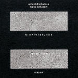 CD Klavierstücke Arnold Schönberg , Franz Schubert , Thomas Larcher