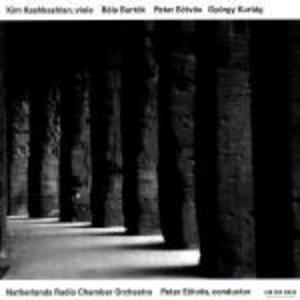 CD Concerto per viola e orchestra / Replica per viola e orchestra / Movimento per viola e orchestra Bela Bartok , György Kurtag , Peter Eötvös