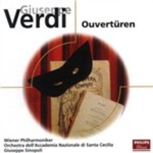 CD Overtures di Giuseppe Verdi