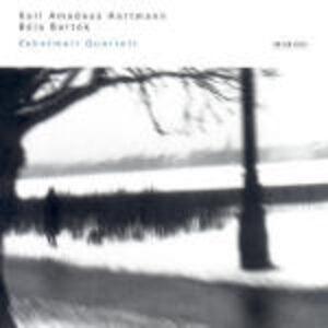 CD Quartetti per archi Bela Bartok , Karl Amadeus Hartmann